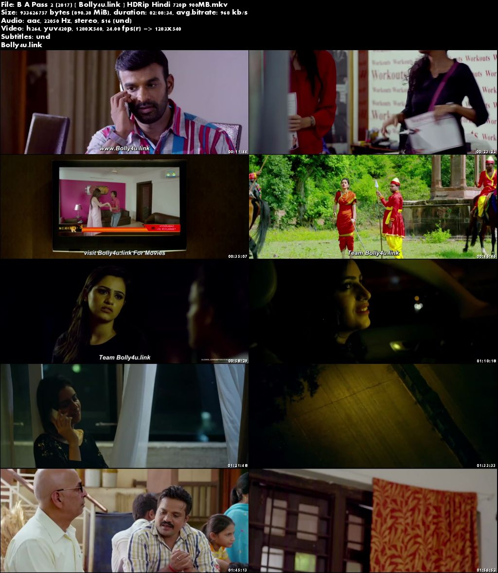 B A Pass 2 2017 HDRip 900MB Full Hindi Movie Download 720p