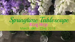 Springtime Tablescape Bloghop