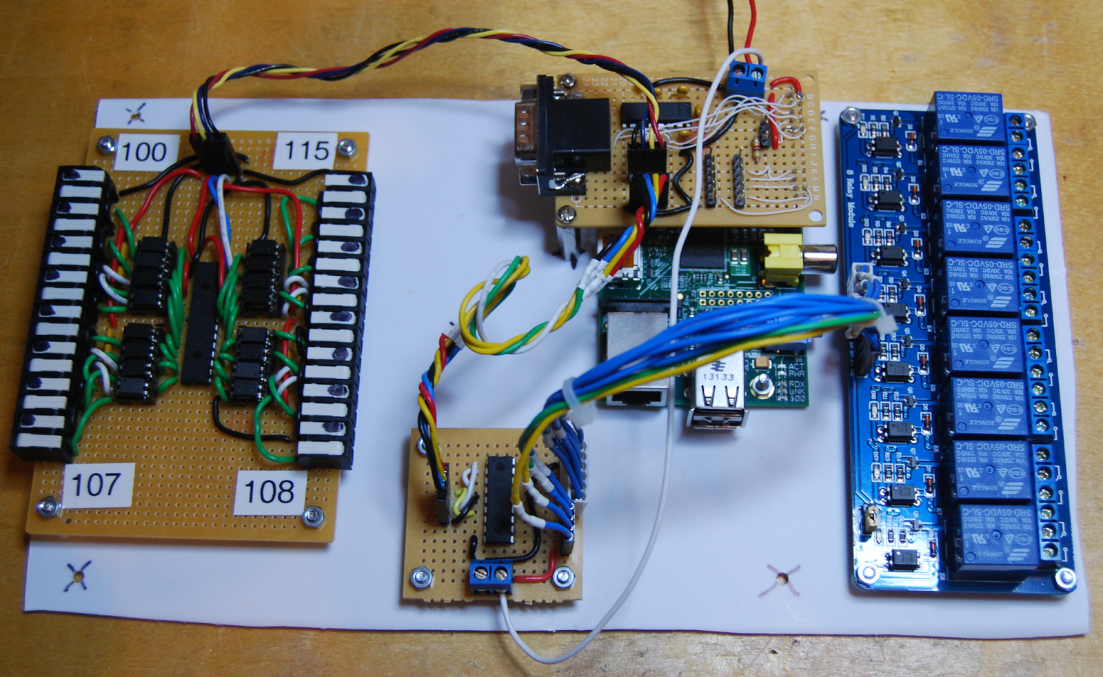 The Raspberry Pi Hobbyist: Improved Alarm/Automation System