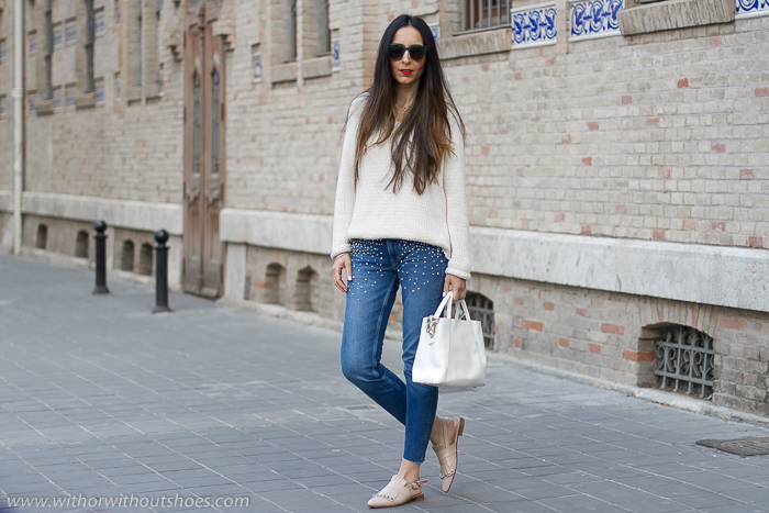 Blogger influencer instagram valencia lifestyle ideas look para combinar jeans