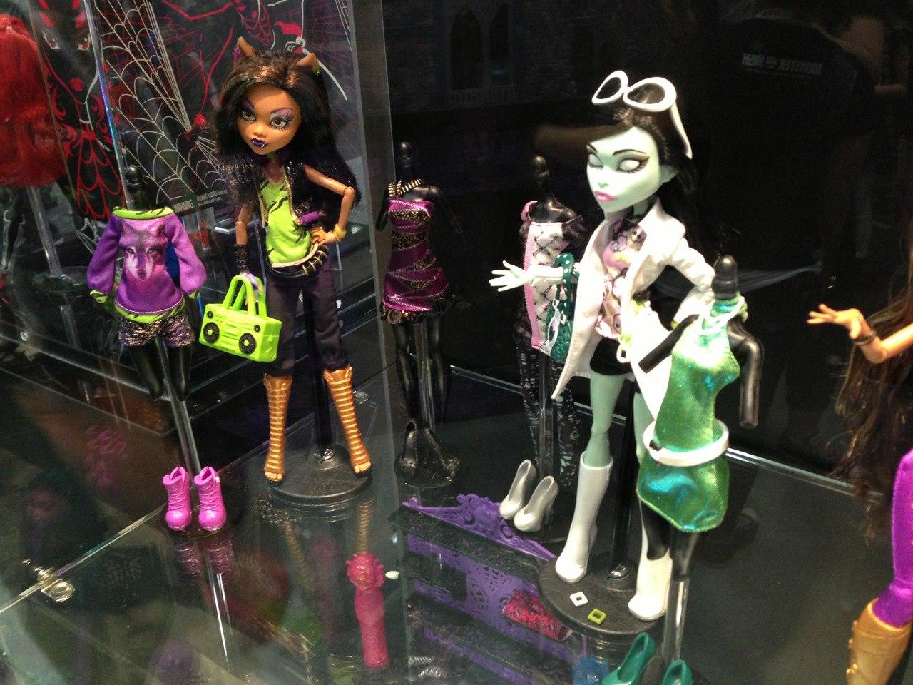 Monster High Pretty Clawdeen Y Scarah I Love Fashion En