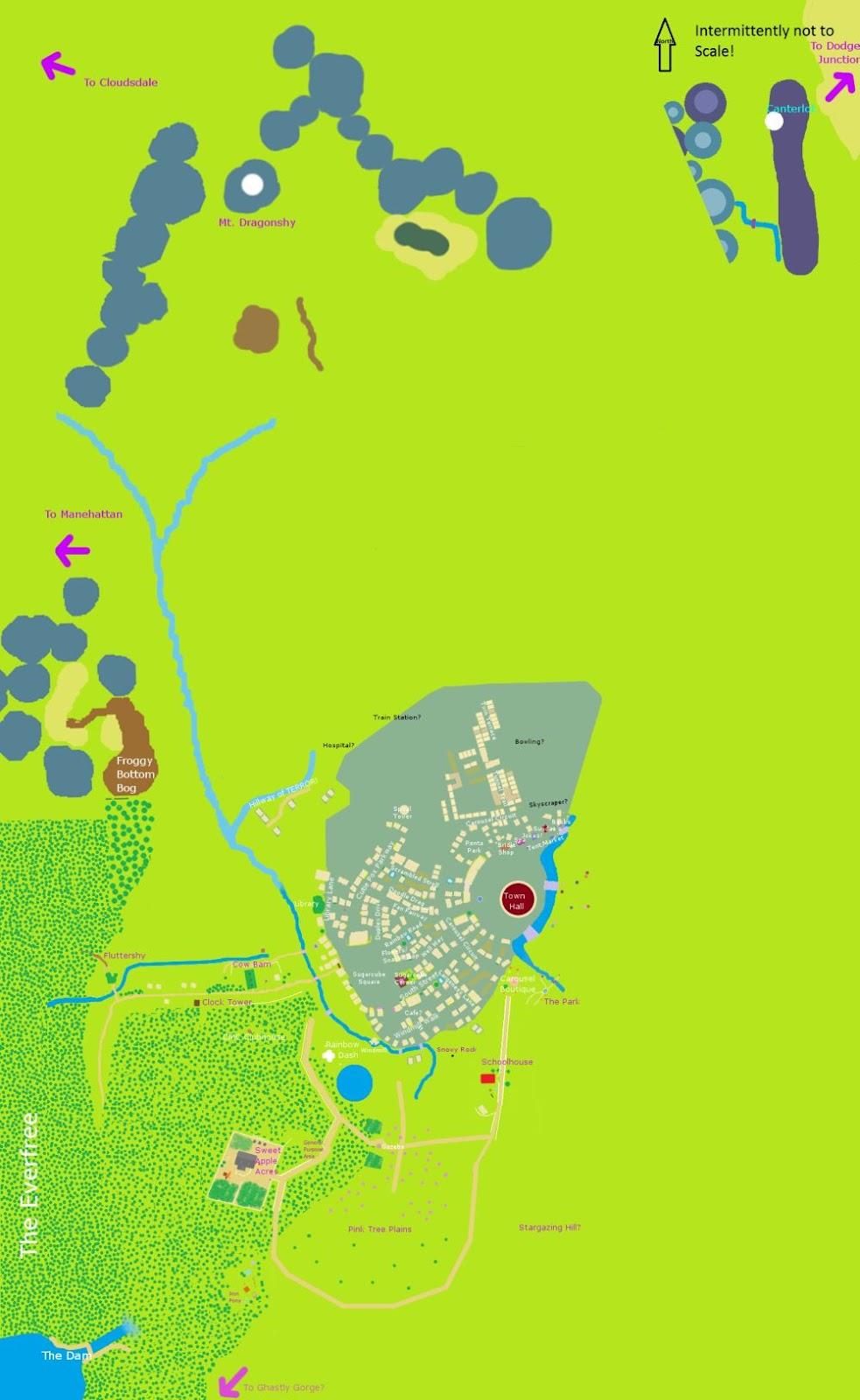 Mlp Minecraft Maps : minecraft, Minecraft, Little, World, Atlas