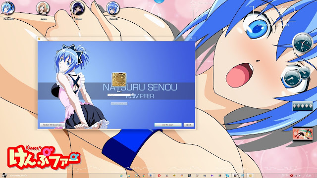 Kämpfer Theme Win 7 by Andrea_37