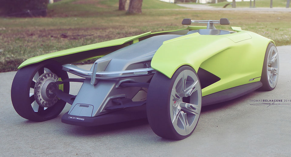 Artist Imagines Dodge Track Car...Say What?