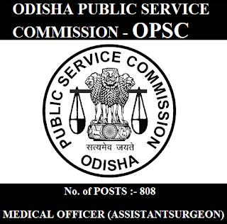 Odisha Public Service Commission, OPSC, Orissa, Odisha, Medical Officer, Assistant Surgeon, Graduation, freejobalert, Sarkari Naukri, Latest Jobs, opsc logo