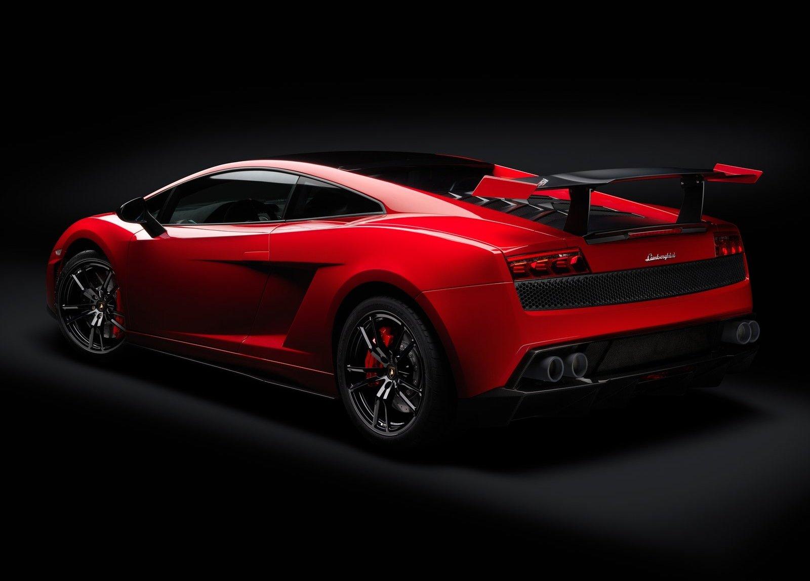 Lamborghini Gallardo Trofeo Stradale Red Black Beast Car Wallpaper