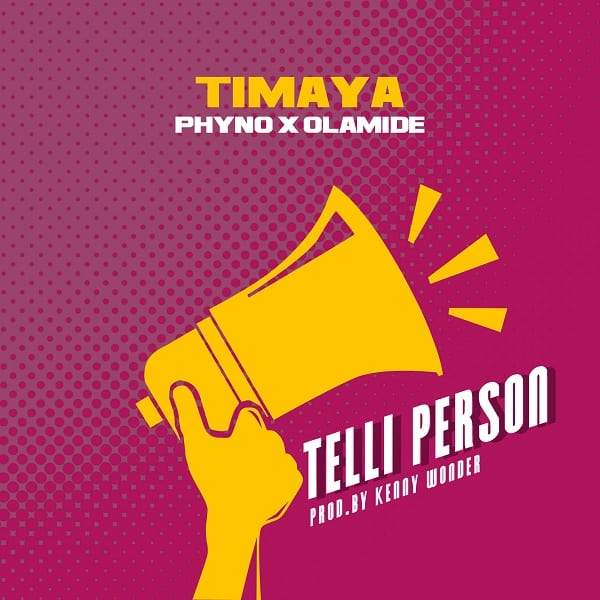 Timaya Feat. Phyno & Olamide - Telli Person (Afro House) 2018