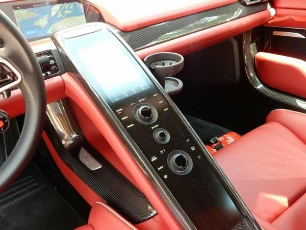 Porsche 918 Spyder Sliver With Red Interior Supercar