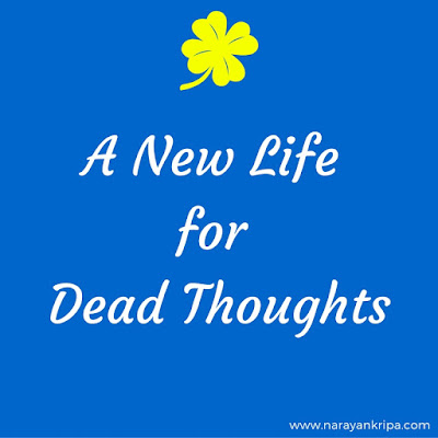 Blog poster: A new life for dead thoughts