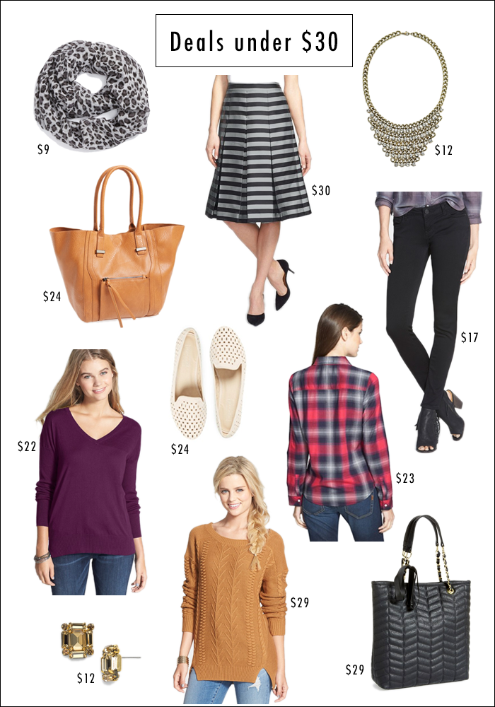 sale items, all under $30, gift ideas, holiday shopping ideas, nordstrom half yearly sale