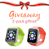 Giveaway: 2-Pack Smartwatch Gift Set
