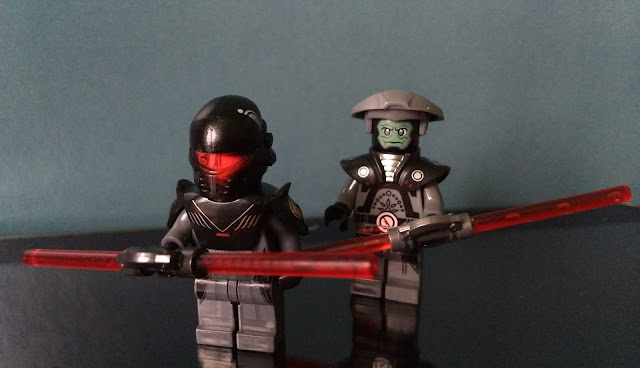 Grand Inquisitor and Fifth Brother lego art