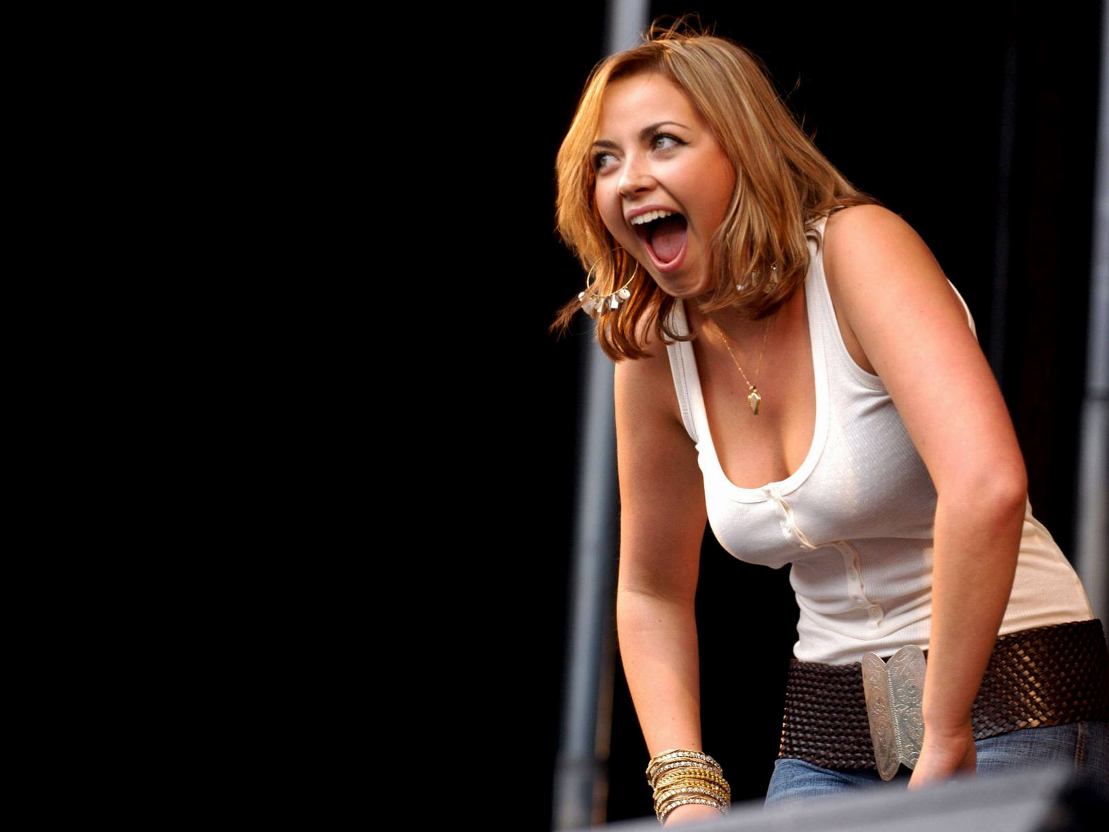 Charlotte Church Shows Off Her Body Confidence In Low