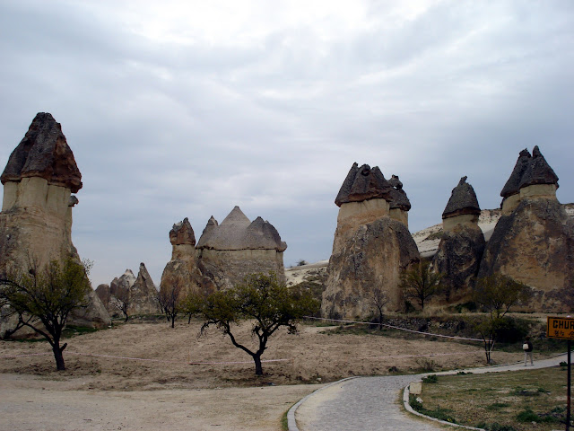 Долина Паша Баглари (Пашабаг). Невшехир, Аванос, Чавушин, нац. парк Гёреме