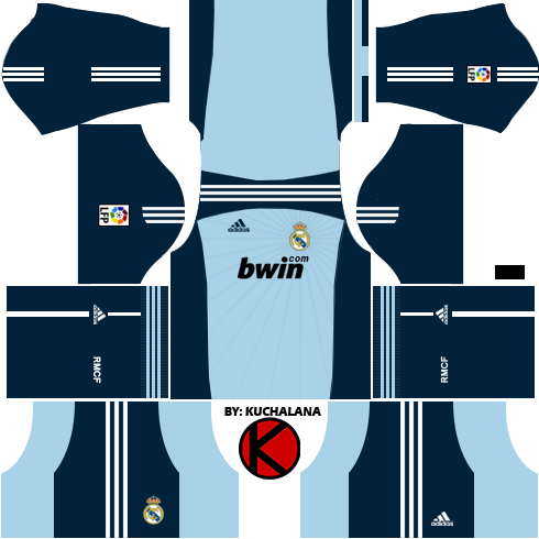 best loved 2b27b 5d5a5 Real Madrid Kits 2010/2011 - Dream League Soccer - Kuchalana