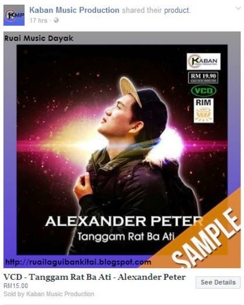 Album 'Tanggam Rat Ba Ati' Alexander Peter Review