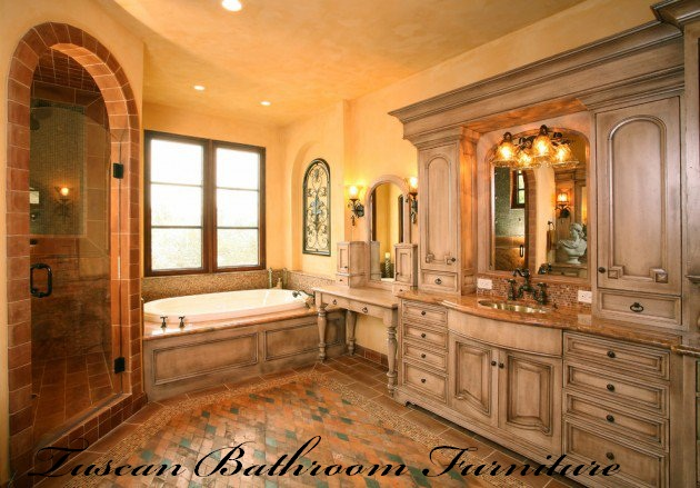 Tuscan Bathroom Fixtures and Accessories