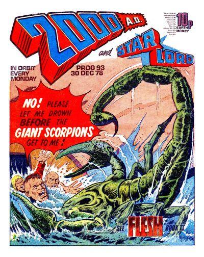 2000 AD, scorpions