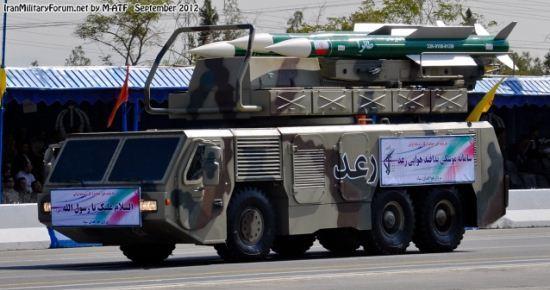 Sistem pertahanan udara Raad