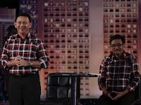 Gestur Ahok di Akhir Debat Dianggap Tanda Ingin Maju Pilpres 2019