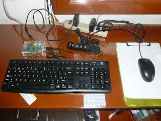 computadora raspberry pi componentes