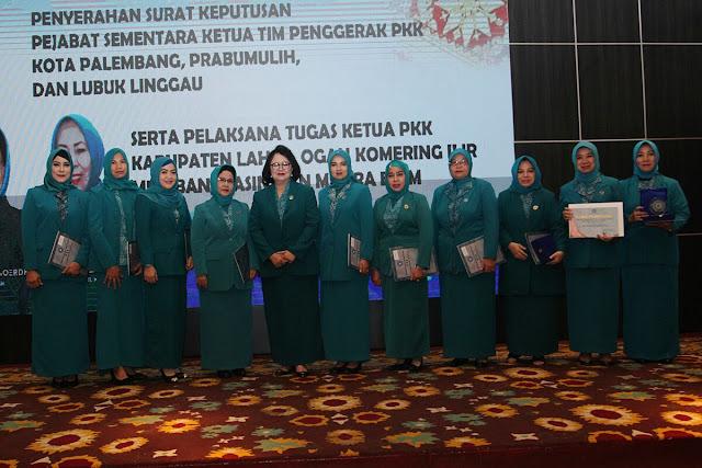 Susi Imelda Jabat Plt Ketua TP PKK Muba