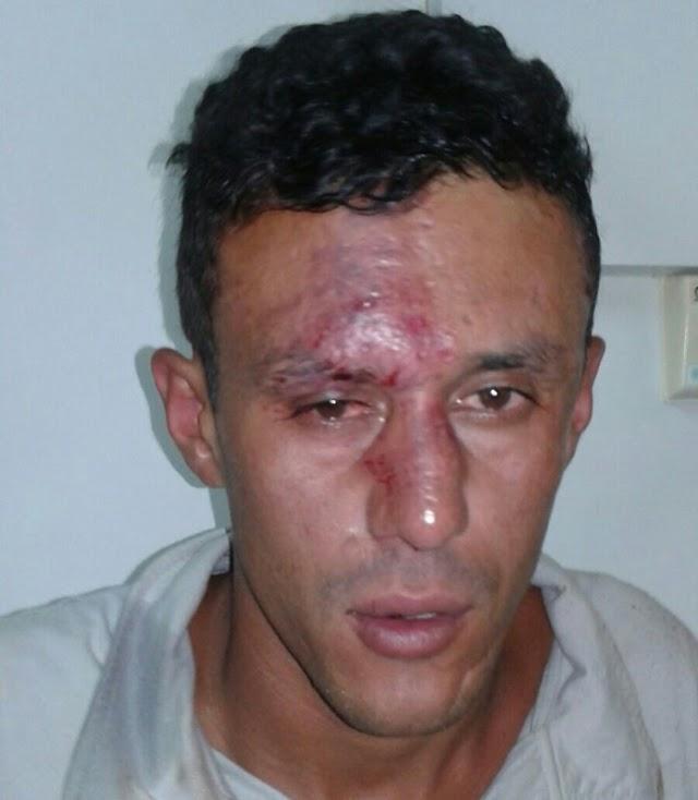 Assaltante de ônibus apanha em Colombo