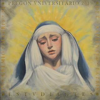 May Perea Cabello autora del cartel del Pregón Universitario