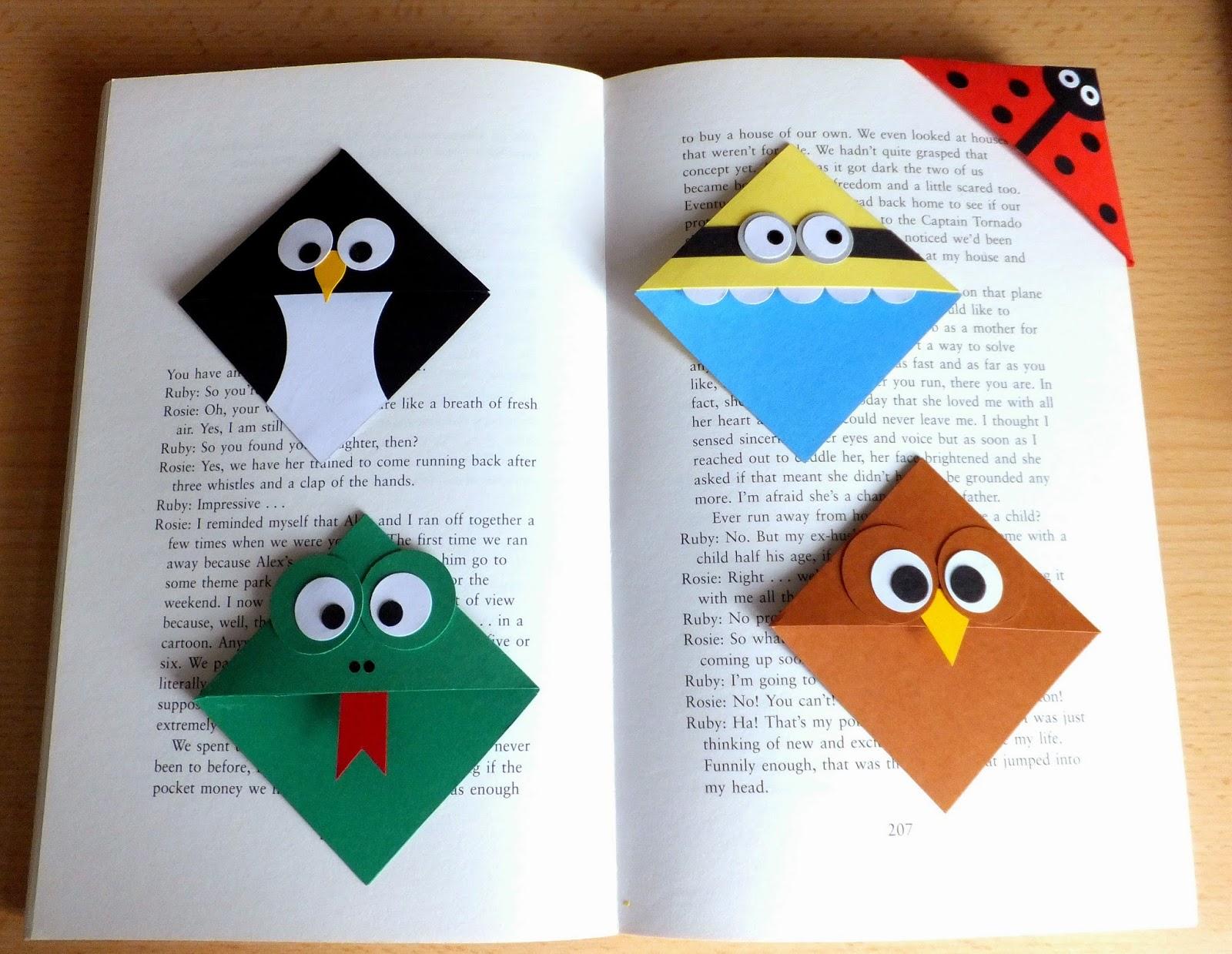Corner Bookmarks — Crafthubs