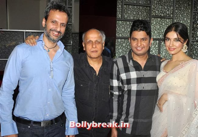 Anil Thadani, Mahesh Bhatt, Bhushan Kumar and Divya Khosla Kumar, Yaariyan Launch Party