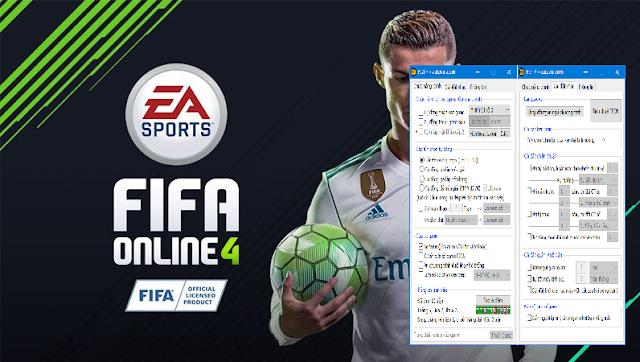 Hack/Cheat Fifa Online 4 đa chức năng
