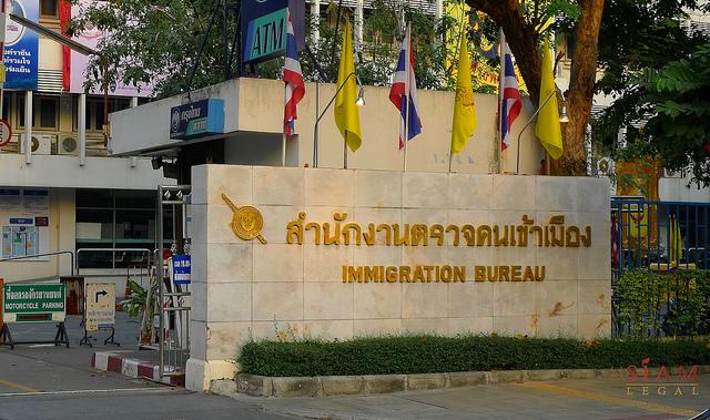 Svarare forlanga visum till thailand