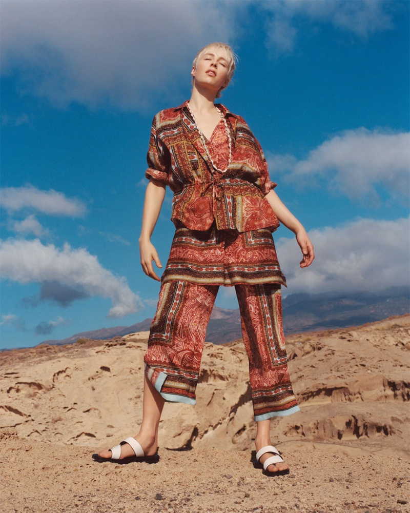 Zara Spice Trail Spring/Summer 2019 Lookbook