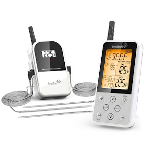 ivation wireless meat thermometer