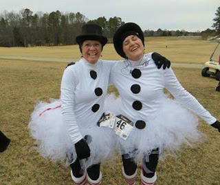 snowman halloween costume costumes idea jingle bell run