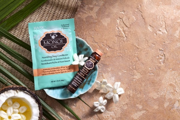 HASK Monoi Oil Deep Conditioner and Shine Oil
