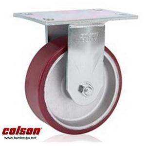 Bánh xe chịu lực 675kg Colson Mỹ càng cố định 8 inch | 6-8298-939 www.banhxepu.net