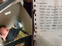 Bayi ini Ditinggalkan Orangtuanya Di Masjid Bersama Surat Yang bikin Miris