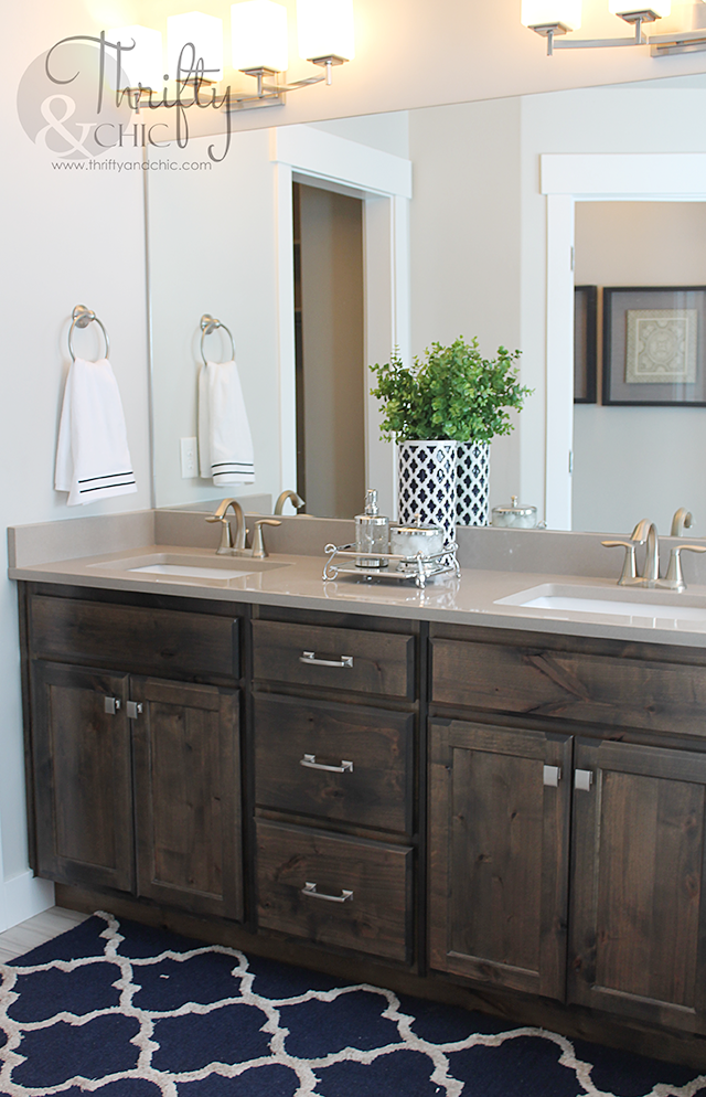 Master Bathroom decorating idea and model home tour