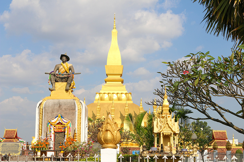 Vientiane, die laotische Hauptstadt