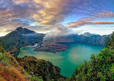 9 Gunung Berapi Tertinggi Di Indonesia Wisata Alam Dan Gunung Indonesia