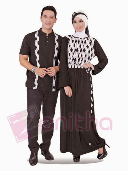 Model Busana Muslim Pesta Sarimbit Keluarga Terbaru