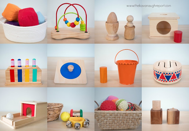 Montessori friendly toys around 10 months!
