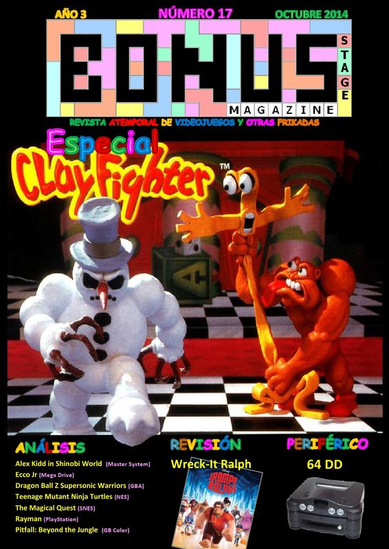 Bonus Stage Magazine #17 Especial ClayFighter (17)