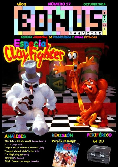 Bonus Stage Magazine #17 Especial ClayFighter (17)