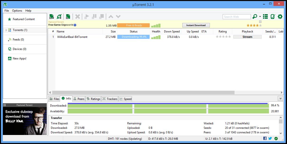 تحميل برنامج uTorrent نسخة محمولة