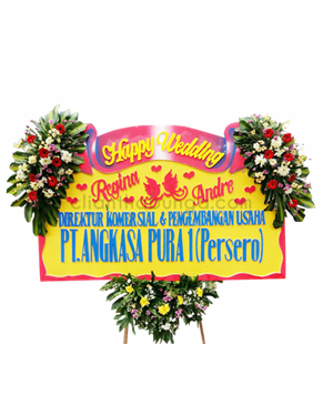 Papan Wedding PW-PJ-02