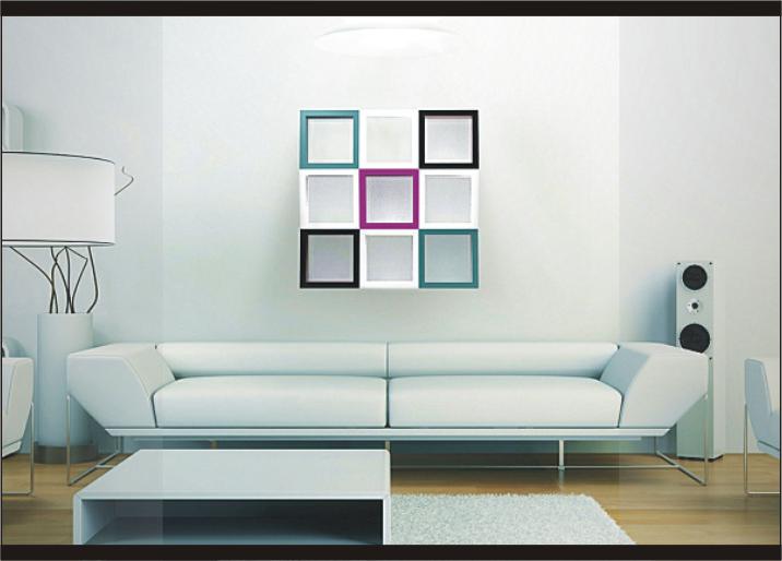 3 Contoh Desain Dekorasi Hiasan Dinding Ruang Tamu Yang Cantik Dan Unik