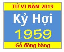 Tử Vi Tuổi Kỷ Hợi 1959 Năm 2019 - Nam Mạng - Nữ Mạng