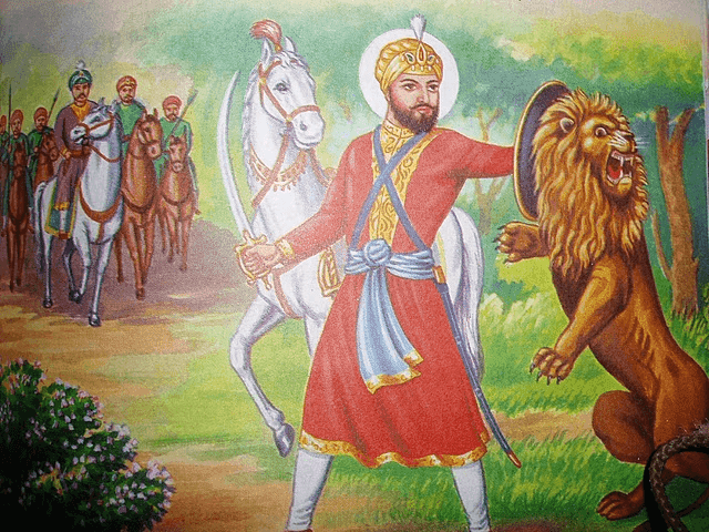 Guru Hargobind Sahib Ji Sixth Sikh Guru Photo Images Wallpapers